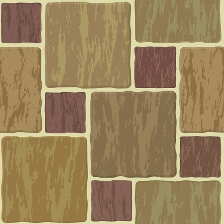 grout: Seamless texture of different colors stonewall tile