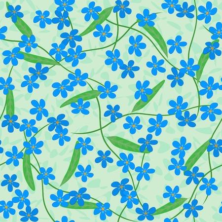 vecteur m'oublie pas d'arrière-plan transparent fleurs