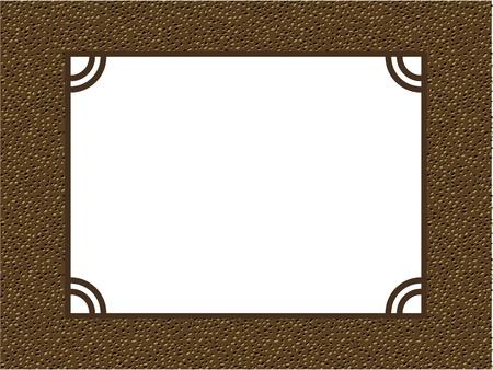 photo album page: vector de �lbum de fotos de marco de p�gina patr�n de fondo
