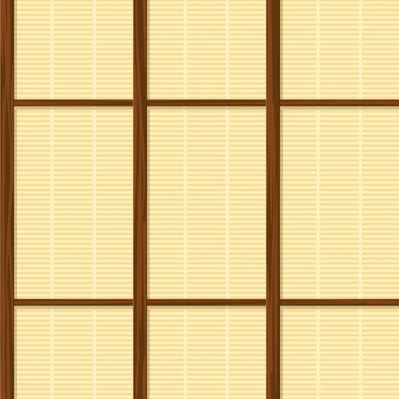 transparente papier japon maison à ossature texture du mur Vecteurs
