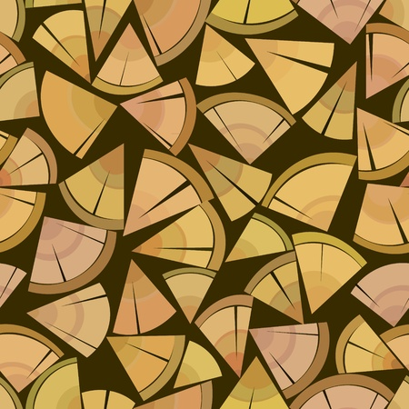 firewood packing stand seamless background pattern
