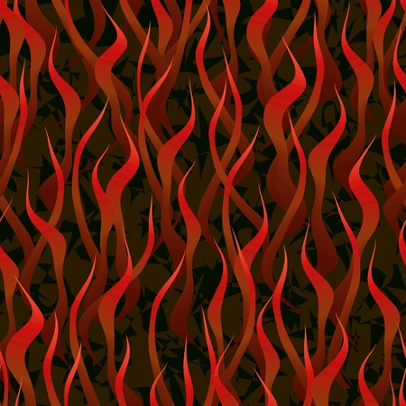 flametongue: red flame hell fire background seamless