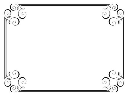 refine: calligraphy calligrafia ornamentale deco telaio modello
