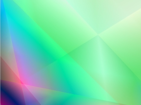 green abstract shiny light background Vector