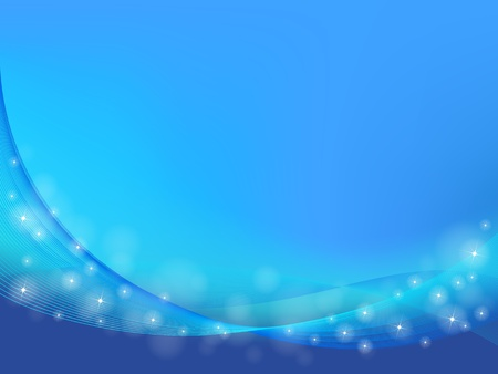 vector blue abstract backgrounds with wave Illustration