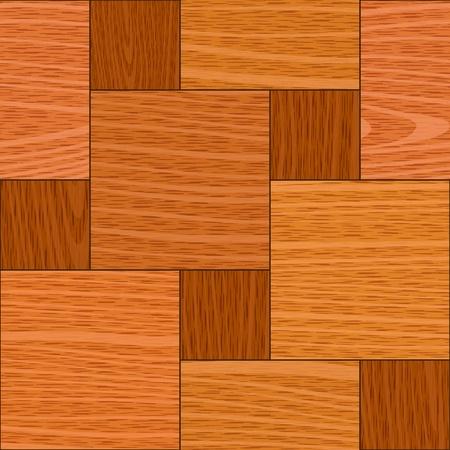 furnier: nahtlose alten Eiche hell Quadrat Parketttafel Wand-Textur Illustration