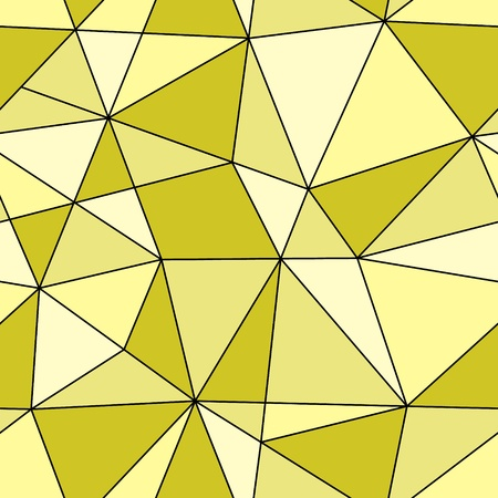 seamless triangles texture Vector