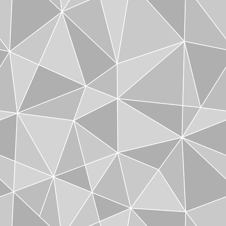 endless: seamless triangles texture, abstract vector art illustration