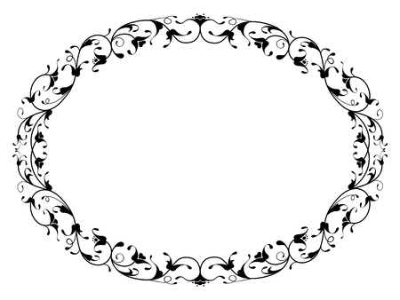 17,744 Frame Oval Cliparts, Stock Vector And Royalty Free Frame ...