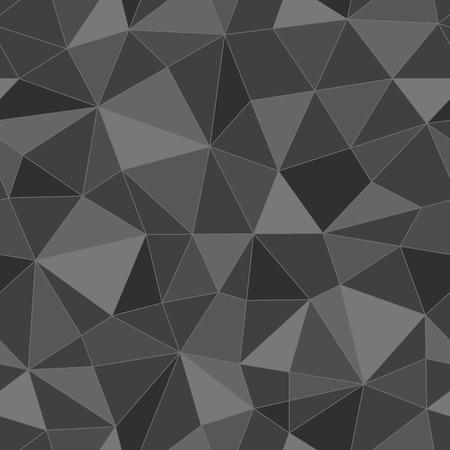三角形のシームレスなテクスチャ、抽象的なベクトル アート イラスト  イラスト・ベクター素材