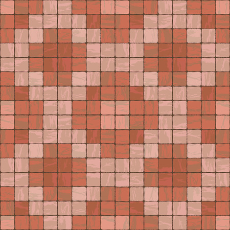 stonewall: Seamless texture of red colors stonewall tile