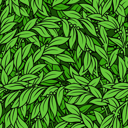 laurel leaf: Laurel abstract green leaf seamless background texture