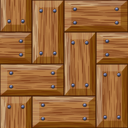 wooden panel: seamless wooden panel door texture with nails background