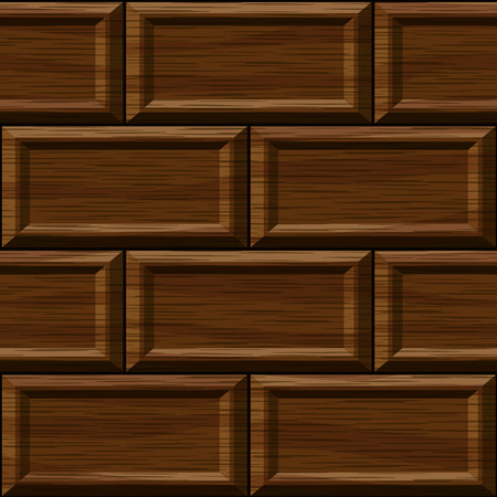 old square: seamless old dark oak square panel wall texture