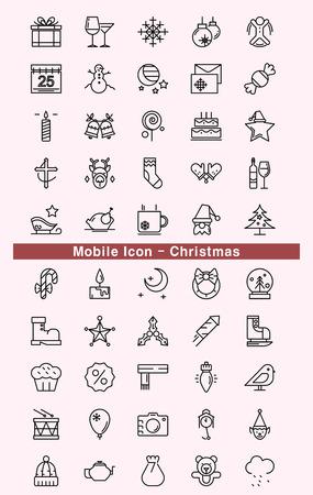 Icona mobile - Natale