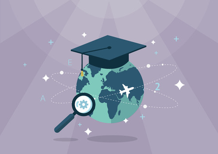 Flat icon_Education