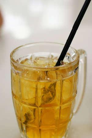 bendable: Iced chrysanthemum tea Stock Photo