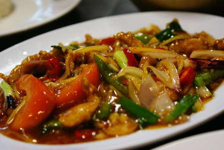 Chicken paprik dish