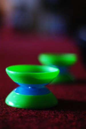 Green Yo-Yos
