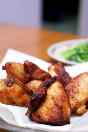 Home Cooked Fried Chicken Stock Photo - 5170930