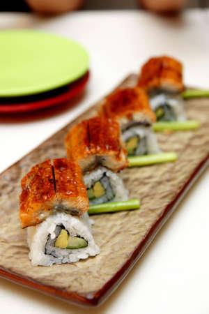 Unagi Sushi rolls