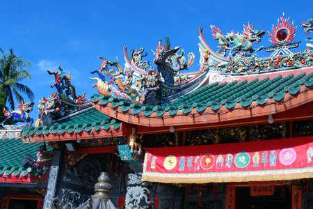 Chinese temple in Kuching, Sarawak, Malaysia