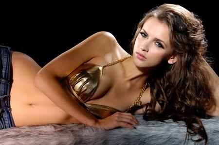 ni�as en bikini: Moda modelo de bikini hermosa