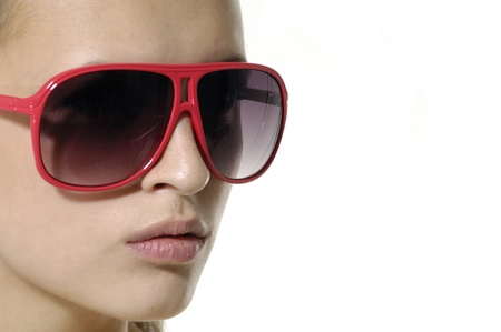 Sunglasses fashion woman Stock Photo - 11120728