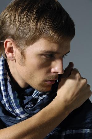 professional model- handsome man, Stock Photo