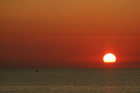 sunup: Sun Rise Stock Photo