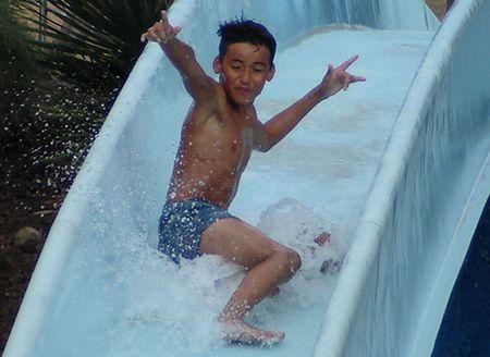 slip: Water Slide Kid