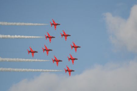 Red Arrows High Side photo