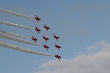 Red Arrows Show Time 2 photo