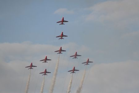 Red Arrows Airshow photo