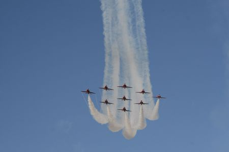 Red Arrows Are Coming photo