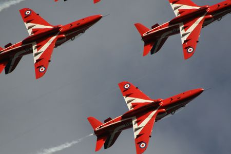 Close up Red Arrows photo