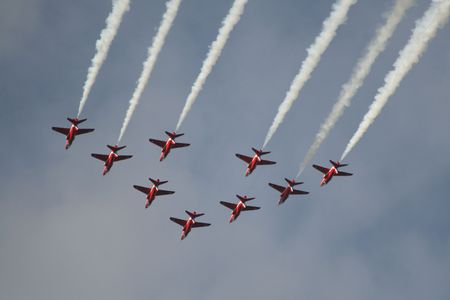 Red Arrows Jets photo