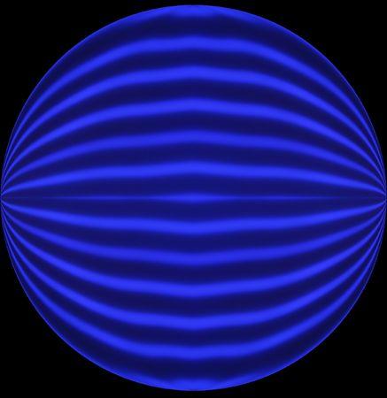 unevenly: Round Blue