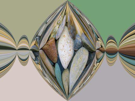 originate: Solid Pebbles Stock Photo