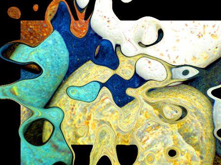 Pebbles Colourful photo