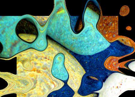 Pebbles Digital Banque d'images