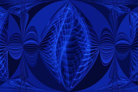Blue Glow Sphere photo