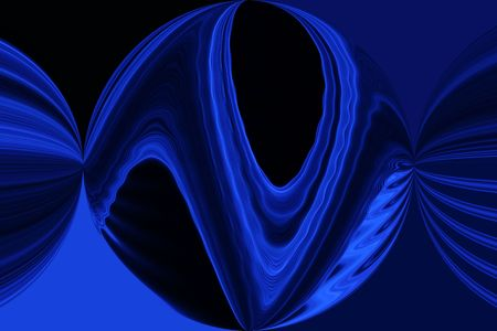 Blue Sphere photo