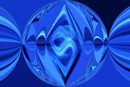 Bright Blue Image photo