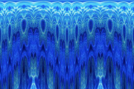 Blue Ice Wave photo