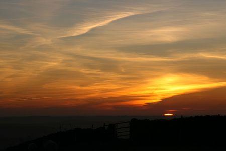 chesterfield: Daybreak Over Chesterfield