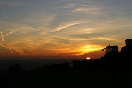 Daybreak In Derbyshire photo