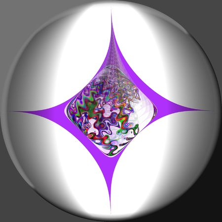 complicity: Purple Glow Stock Photo