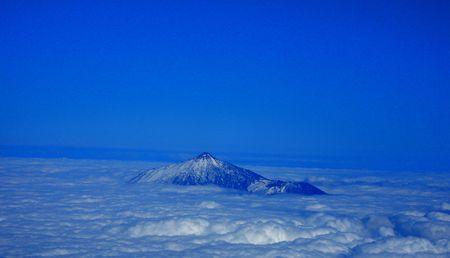 Mount Teide Top Stock fotó