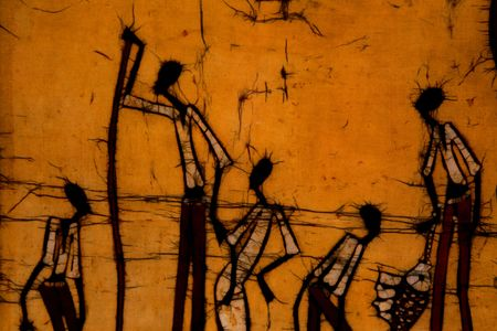 artful: African Art Image Stock Photo